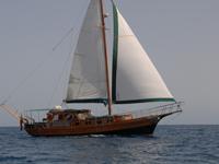 Paradise Barca a Vela caicco turco